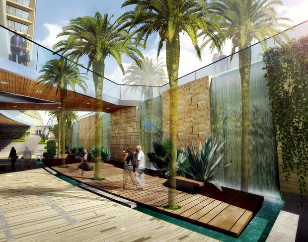 B h architects global architectural interior landscape for Interior garden design